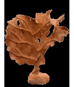 Decoratiune sculptura frunza
