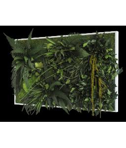 Tablou muschi si plante stabilizate 100 cm x 60 cm